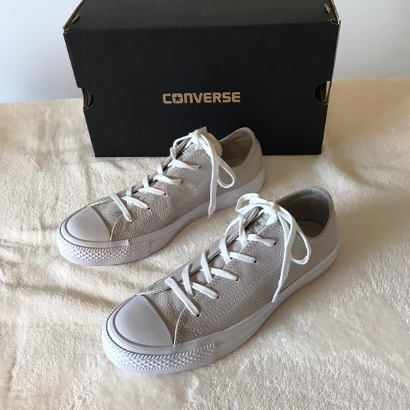 594bccf3c32 NIB Converse All Star Ox Pale Putty Leather 6